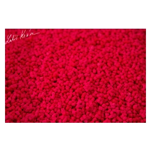 LK Baits Fluoro Pellets Wild Strawberry 1kg, 2mm