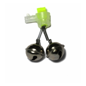 Rolnička Dvojitá Double Bell Light Clip 2pc