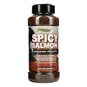 STARBAITS Pelety Bagging Spicy Salmon 700g