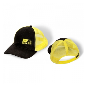 Kšiltovka Trucket Cap Black/Yellow