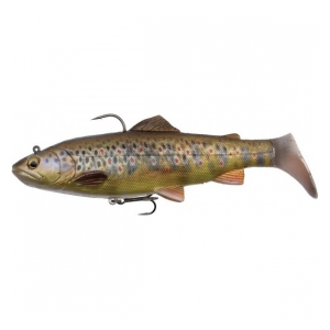 Umělá nástraha 4D Trout Rattle Shad 12,5cm  35g - Dark Brown Trout