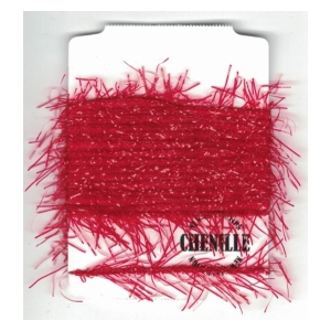 Vibrant chenille - Bloody red