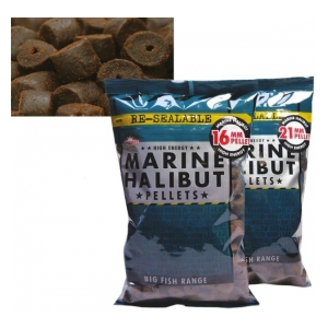Pelety Pre-Drilled-Marine Halibut 16mm 900g