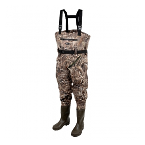 Prologic Brodicí kalhoty Max5 Nylo-Stretch Chest Wader w/Cleated 42/43 - 7.5/8