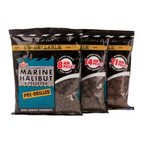 Pelety Pre-Drilled-Marine halibut - 21mm 900g
