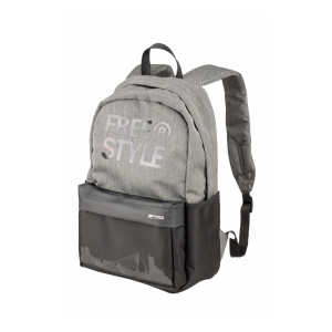 FreeStyle Batoh Classic Backpack - Šedá