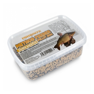 Mikbaits Method Feeder pellet box 400g + 120ml - Sladká kukuřice