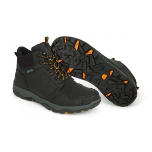 Boty Collection Black & Orange Mid Boots vel. 44