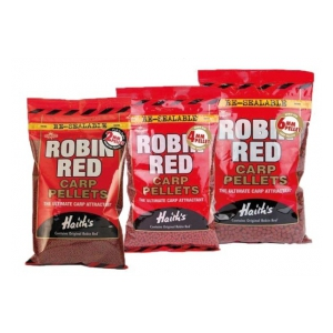Dynamite Baits Pelety Robin Red NOT DRILLED 4mm 900g
