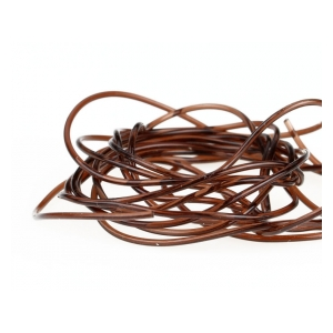Sybai Glass rib 1mm - Brown-140cm