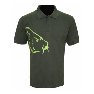 Zfish Tričko Carp Polo T-Shirt Olive Green vel. XL