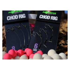 Chod Rig Short Barbless Size 6 - Size 6 barbless - 2,5 cm