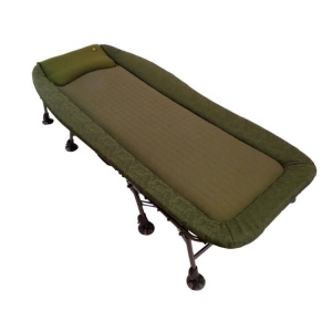 Carp Spirit Sada Lehátko Magnum Bed XL 8-leg + Spacák Sleeping Bag 4 Season XL + Polštář Half Moon Pillow