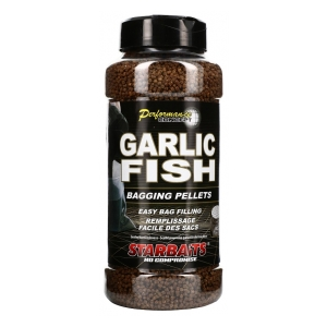 STARBAITS Pelety Bagging Garlic Fish 700g