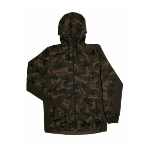 Fox International Mikina - Chunk Camo / Dark Khaki Track Hoodie - XXXL