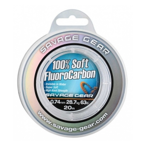 Soft Fluoro Carbon 1.0mm 15m 111lb 50.5kg