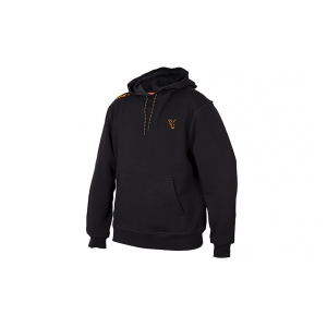 Fox International Mikina Collection Orange & Black Hoodie vel. M