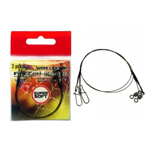 Falcon Lanko Wire Leader Spider 2ks 9 kg