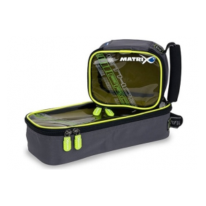 Matrix Pro accessory bag  - S clear top lime lining